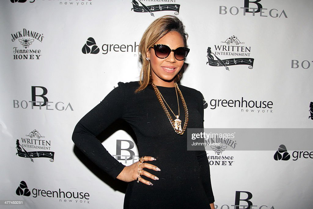 Recording artist Ashanti attends her 'Brave Heart' Album Release Party at Greenhouse on March 8, 2014, in New York City.
