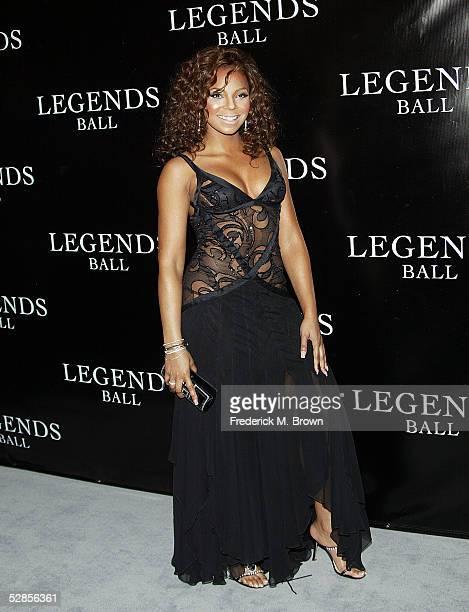 Recording artist Ashanti attends Oprah Winfrey's Legends Ball at the Bacara Resort and Spa on May 14 2005 in Santa Barbara California
