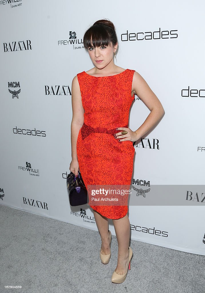Recording Artist attends the Harper's BAZAAR celebration for the new Bravo series 'Dukes of Melrose' at The Terrace at Sunset Tower on February 28, 2013 in West Hollywood, California.