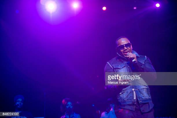 Recording artist Avant performs onstage during the 'A Night of Classic RB' Saturday Soul Series at Fox Theater on September 16 2017 in Atlanta Georgia