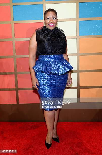 Recording artist Avery Sunshine attends the 2014 Soul Train Music Awards at the Orleans Arena on November 7 2014 in Las Vegas Nevada
