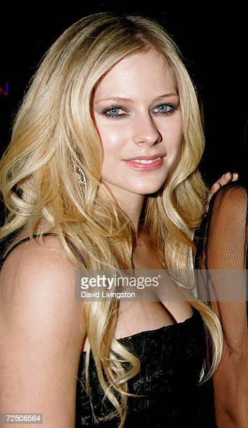 Recording artist Avril Lavigne attends the Los Angeles premiere of 20th Century Fox's 'Fast Food Nation' at the Egyptian Theater on November 10 2006...