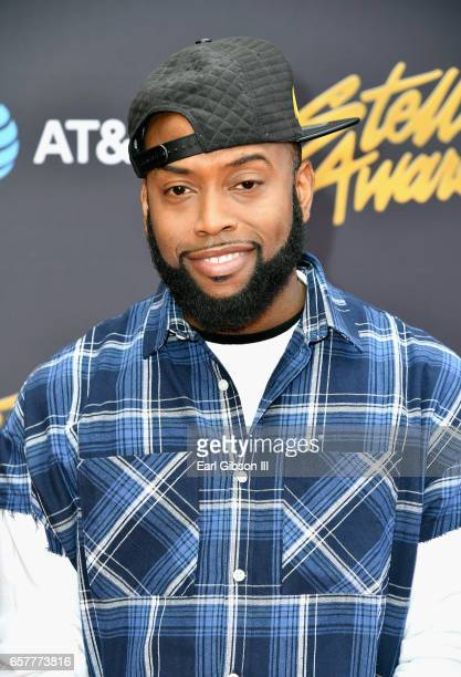 Recording artist B. Slade arrives at the 32nd annual Stellar Gospel Music Awards at the Orleans Arena on March 25, 2017 in Las Vegas, Nevada.