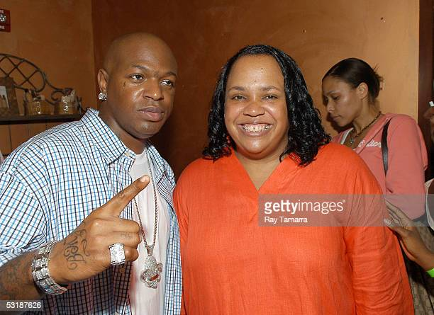 Recording artist Baby and Carol's Daughter founder Lisa Price attend Carol's Daughter MeetNGreet at Eclipse Salon Spa July 2 2005 in New Orleans...