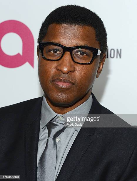 Recording artist Babyface attends the 22nd Annual Elton John AIDS Foundation's Oscar Viewing Party on March 2 2014 in Los Angeles California
