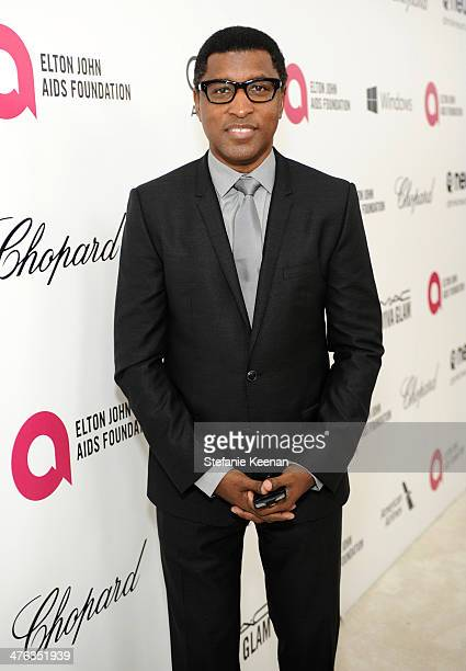Recording artist Babyface attends the 22nd Annual Elton John AIDS Foundation Academy Awards viewing party with Chopard at the City of West Hollywood...
