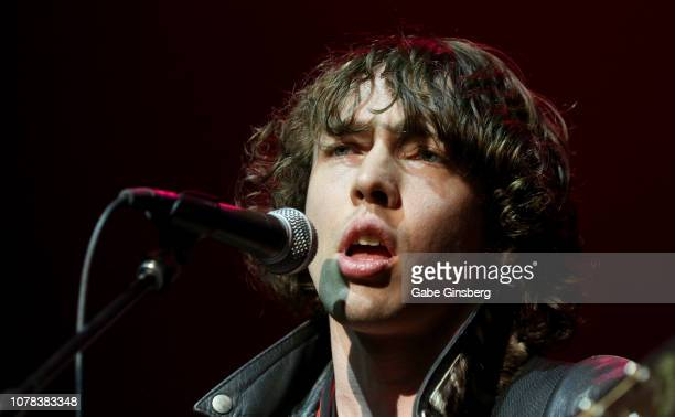 Recording artist Barns Courtney performs during X1075's Holiday Havoc 2018 show at The Pearl concert theater at Palms Casino Resort on December 6...
