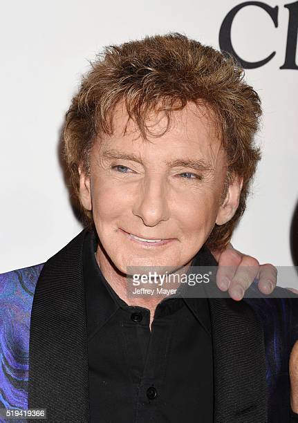 Recording artist Barry Manilow attends the 2016 PreGRAMMY Gala and Salute to Industry Icons honoring Irving Azoff at The Beverly Hilton Hotel on...