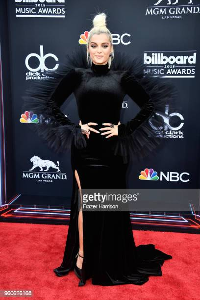 Recording artist Bebe Rexha attends the 2018 Billboard Music Awards at MGM Grand Garden Arena on May 20 2018 in Las Vegas Nevada
