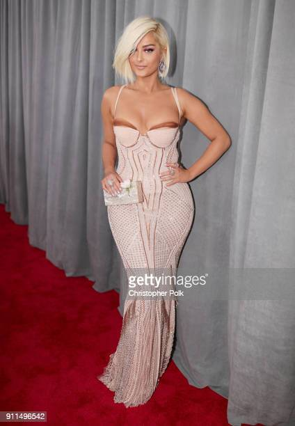 Recording artist Bebe Rexha attends the 60th Annual GRAMMY Awards at Madison Square Garden on January 28 2018 in New York City