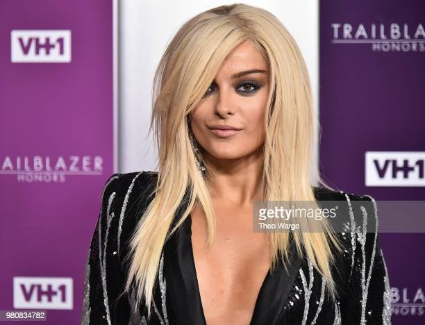 Recording artist Bebe Rexha attends VH1 Trailblazer Honors 2018 at The Cathedral of St John the Divine on June 21 2018 in New York City