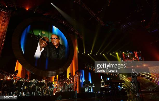 Recording artist BeBe Winans performs onstage during the 17th annual Keep Memory Alive Power of Love Gala benefit for the Cleveland Clinic Lou Ruvo...