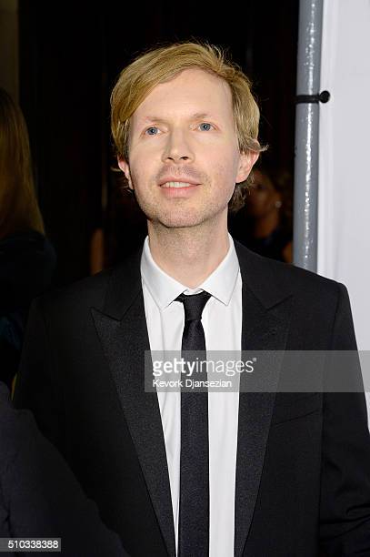 Recording artist Beck attends the 2016 PreGRAMMY Gala and Salute to Industry Icons honoring Irving Azoff at The Beverly Hilton Hotel on February 14...