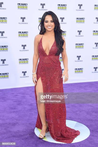 Recording artist Becky G attends 2017 Latin American Music Awards at Dolby Theatre on October 26 2017 in Hollywood California