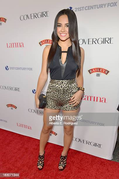 Recording artist Becky G attends Latina Magazine's 'Hollywood Hot List' party at The Redbury Hotel on October 3 2013 in Hollywood California