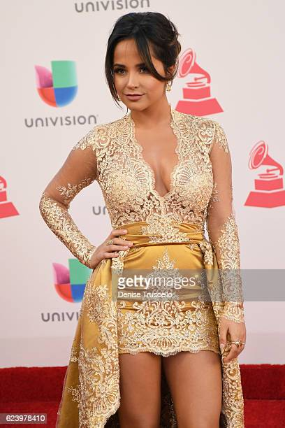 Recording artist Becky G attends The 17th Annual Latin Grammy Awards at TMobile Arena on November 17 2016 in Las Vegas Nevada