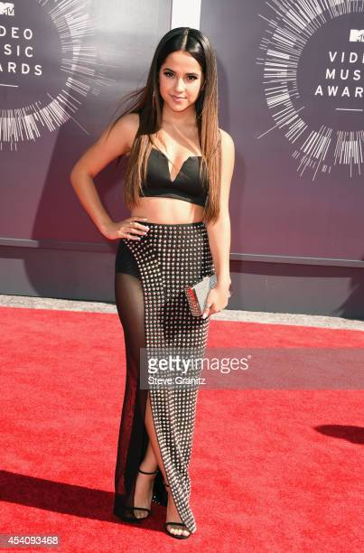Recording artist Becky G attends the 2014 MTV Video Music Awards at The Forum on August 24, 2014 in Inglewood, California.