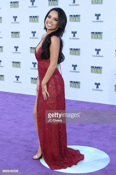 Recording artist Becky G attends The 2017 Latin American Music Awards at Dolby Theatre on October 26 2017 in Hollywood California