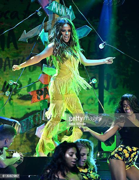 Recording artist Becky G performs onstage during the 2016 Latin American Music Awards at Dolby Theatre on October 6 2016 in Hollywood California