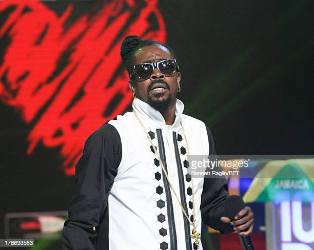 Recording artist Beenie Man performs during 106 Park at the 106 Park Studio on August 19 2013 in New York City