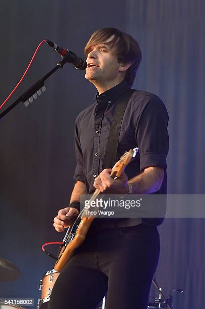 Recording artist Ben Gibbard of Death Cab for Cutie performs onstage at Firefly Music Festival on June 18 2016 in Dover Delaware