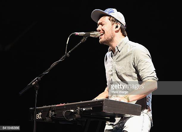 Recording artist Ben Lovett of Mumford Sons performs onstage during the Firefly Music Festival on June 19 2016 in Dover Delaware