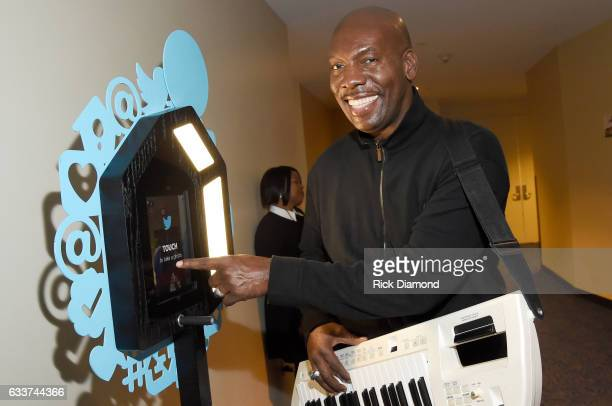 Recording artist Ben Tankard poses backstage during the BET Presents Super Bowl Gospel Celebration at Lakewood Church on February 3 2017 in Houston...