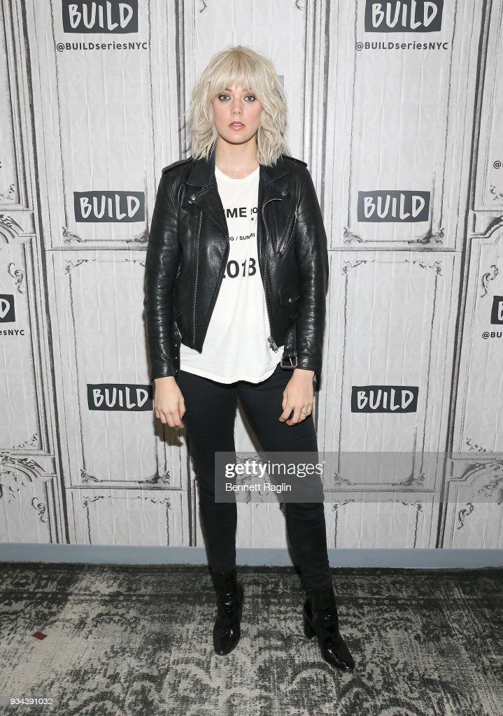 Recording artist Betty Who visits Build on March 19, 2018 at Build Studio on March 19, 2018 in New York City.