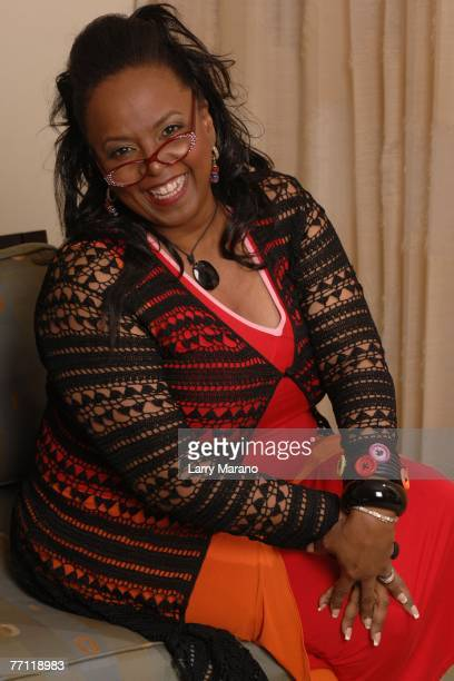 Recording artist Betty Wright poses during a portrait session at the Seminole Hard Rock Hotel Casino September 30 2007 in Hollywood Florida