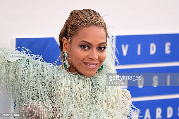 Recording artist Beyonce attends the 2016 MTV Video Music Awards at Madison Square Garden on August 28 2016 in New York City
