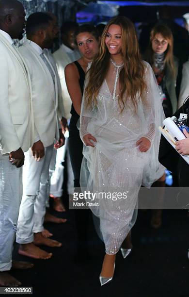 Recording Artist Beyonce attends The 57th Annual GRAMMY Awards at STAPLES Center on February 8 2015 in Los Angeles California