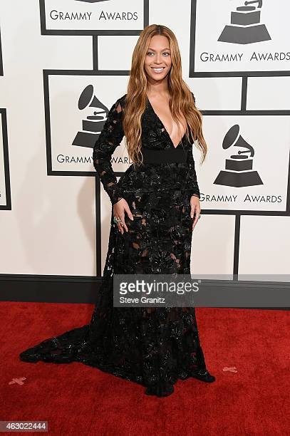 Recording artist Beyonce attends The 57th Annual GRAMMY Awards at the STAPLES Center on February 8, 2015 in Los Angeles, California.