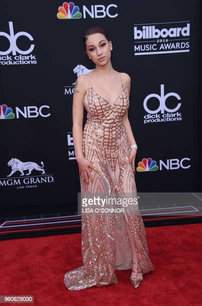 Recording artist Bhad Bhabie attends the 2018 Billboard Music Awards 2018 at the MGM Grand Resort International on May 20 2018 in Las Vegas Nevada