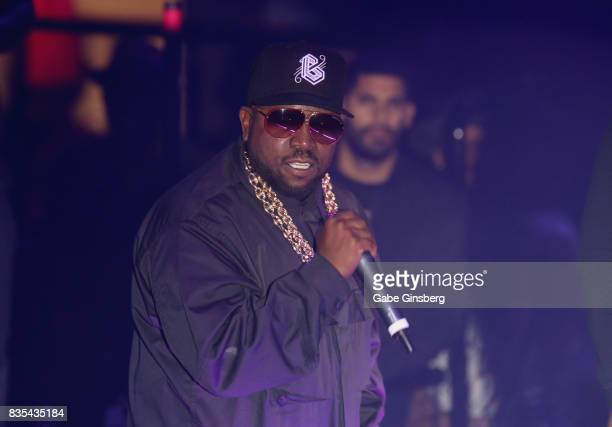 Recording artist Big Boi performs at Drai's Beach Club Nightclub at The Cromwell Las Vegas on August 19 2017 in Las Vegas Nevada