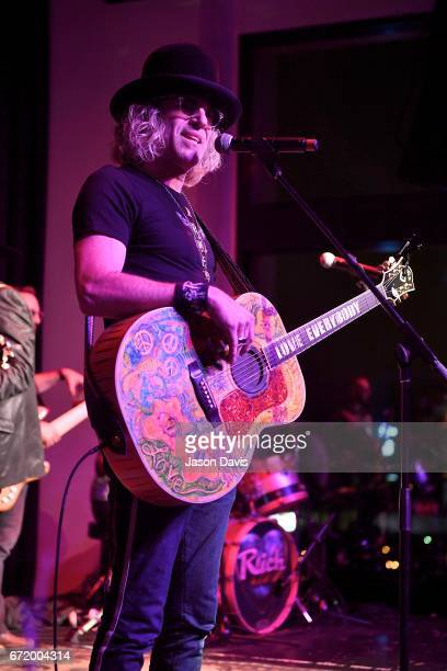 Recording Artist Big Kenny performs during a private concert for Pediatric Cancer research on April 22 2017 in Nashville Tennessee