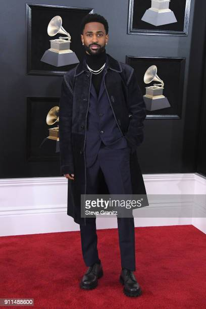 Recording artist Big Sean attends the 60th Annual GRAMMY Awards at Madison Square Garden on January 28 2018 in New York City