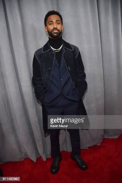 Recording artist Big Sean attends the 60th Annual GRAMMY Awards at Madison Square Garden on January 28, 2018 in New York City.