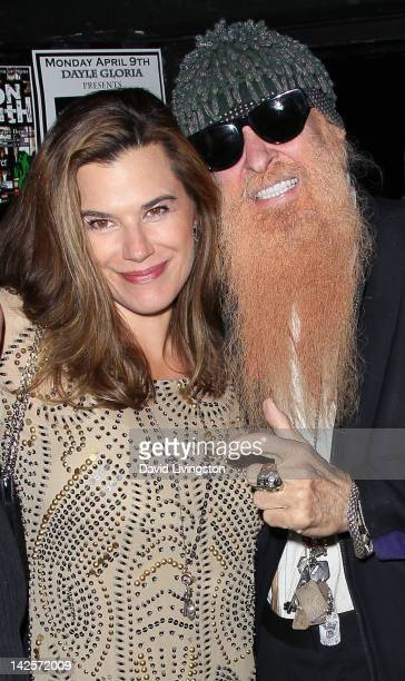 Recording artist Billy Gibbons and wife Gilligan Stillwater attend The Click Clack Boom performance presented by Andrew Charles and hosted by Andy...