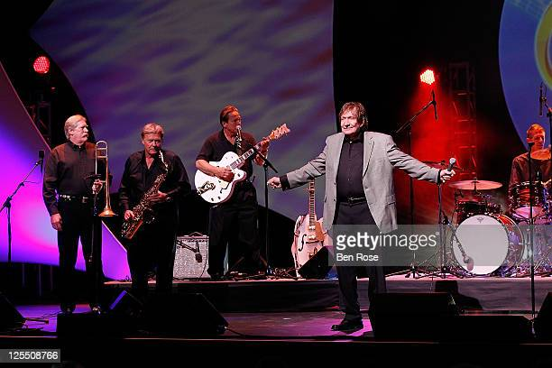 Recording artist Billy Joe Royal performs in honor of Georgia Music Hall of Fame inductee Paul Cochran during the 33rd Annual Georgia Music Hall Of...