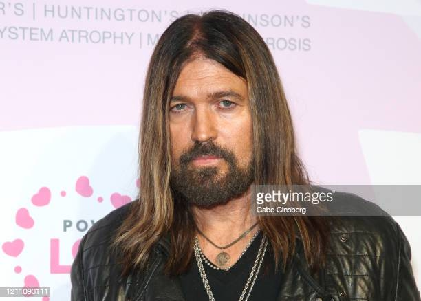 Recording artist Billy Ray Cyrus attends the 24th annual Keep Memory Alive Power of Love Gala benefit for the Cleveland Clinic Lou Ruvo Center for...
