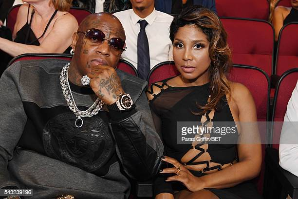 Recording artist Birdman and singer Toni Braxton attend the 2016 BET Awards at the Microsoft Theater on June 26, 2016 in Los Angeles, California.