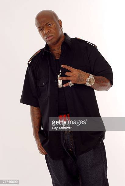 Recording artist Birdman poses for photos at the Michaelson Studio August 29 07 2006 in New York City