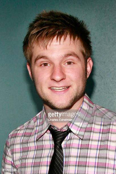 Recording artist Blake Lewis performs at the Canal Room on June 24 2008 in New York