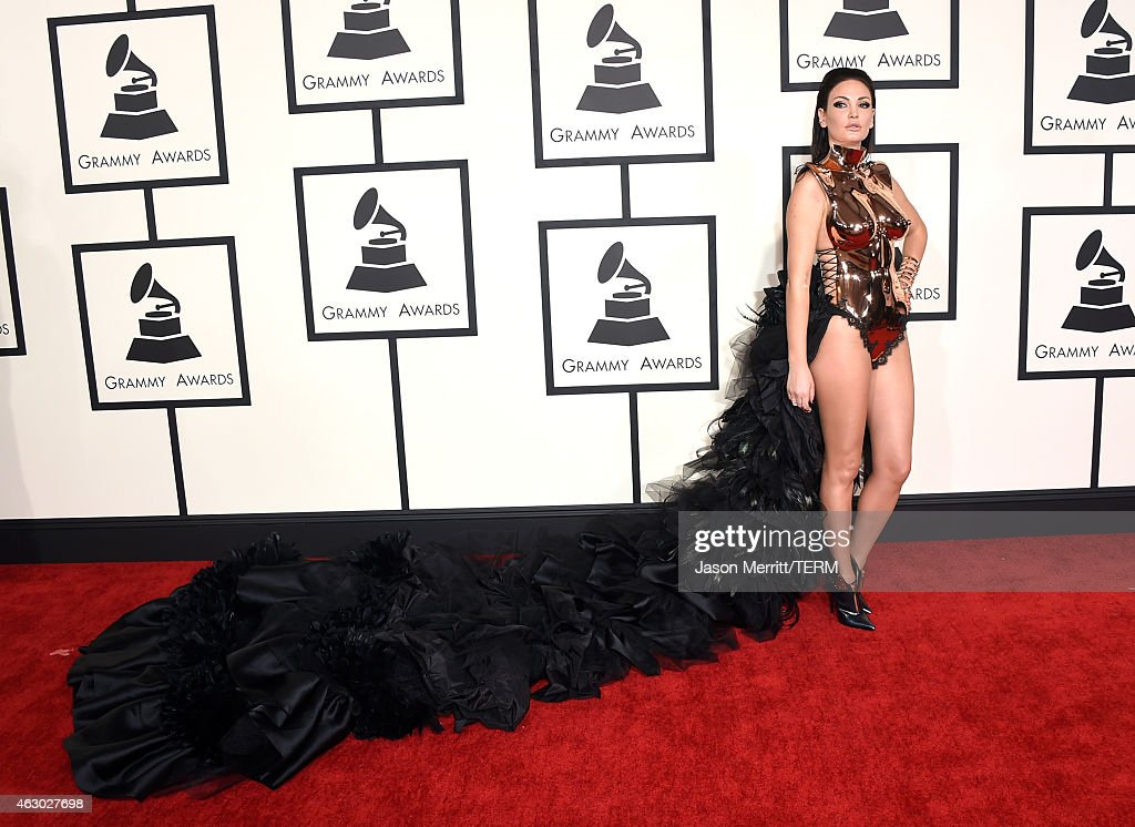 Recording artist Bleona Qereti attends The 57th Annual GRAMMY Awards at the STAPLES Center on February 8, 2015 in Los Angeles, California.
