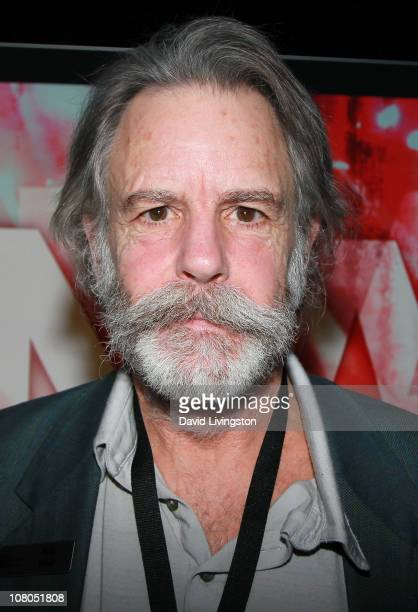 Recording artist Bob Weir attends the 2011 NAMM Show Day 3 at the Anaheim Convention Center on January 14 2011 in Anaheim California