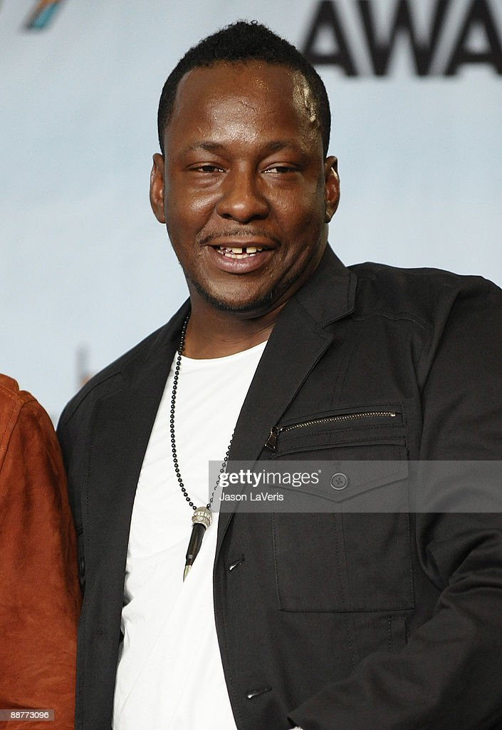 Recording artist Bobby Brown poses for photos in the press room at the 2009 BET Awards at The Shrine Auditorium on June 28, 2009 in Los Angeles, California.