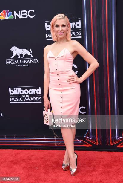 Recording artist Bonnie McKee attends the 2018 Billboard Music Awards 2018 at the MGM Grand Resort International on May 20 2018 in Las Vegas Nevada