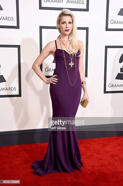 Recording artist Bonnie McKee attends The 57th Annual GRAMMY Awards at the STAPLES Center on February 8 2015 in Los Angeles California