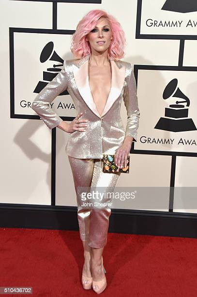 Recording artist Bonnie McKee attends The 58th GRAMMY Awards at Staples Center on February 15 2016 in Los Angeles California