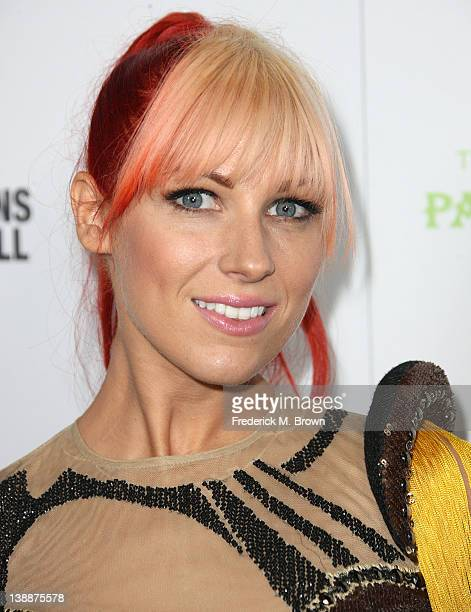 Recording artist Bonnie McKee attends the EMI GRAMMY After Party at the Capital Records Building on February 12 2012 in Hollywood California